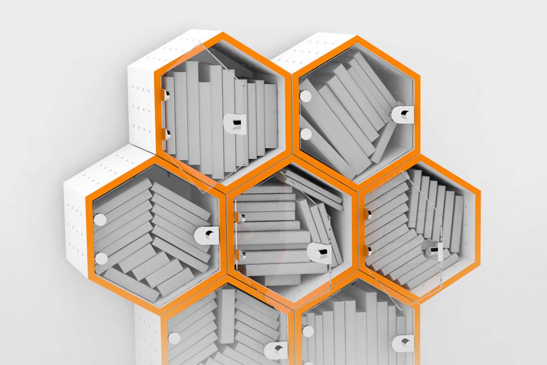 Bookhive Modular Bookcase