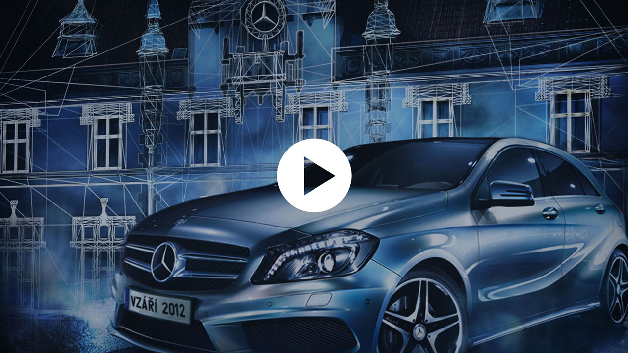 Mercedes-Benz videomapping