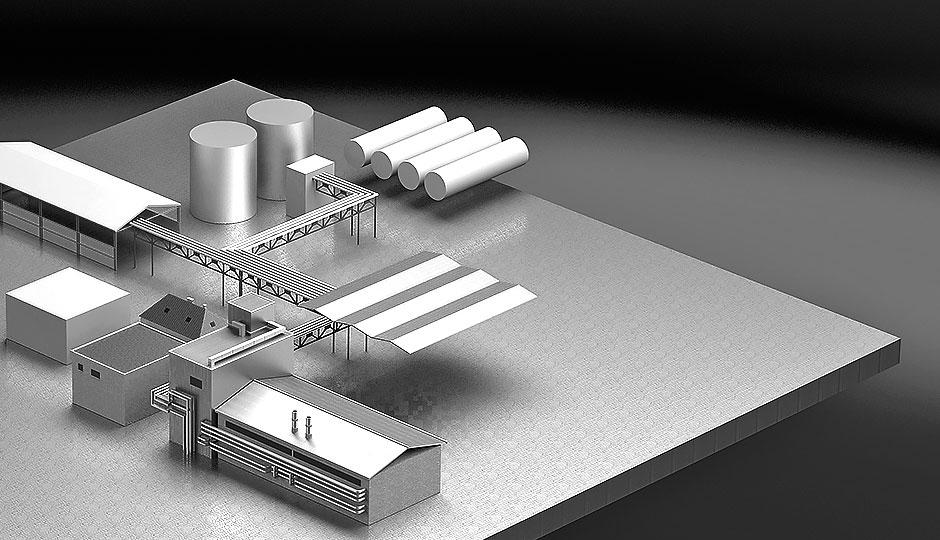3D model 3